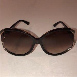 Salvatore Feragamo brown sunglasses